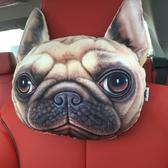 汽車上頭枕小車靠枕護頸枕枕頭車載萌萌可愛卡通創意車用內飾