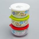 日本製【Sasaki】丸型玻璃保鮮盒附蓋 /B-31301