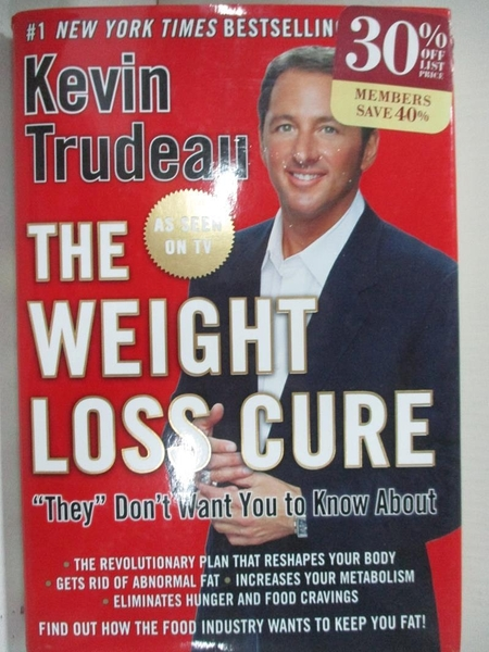 【書寶二手書T8/原文小說_EHK】The Weight Loss Cure They Don't Want You to Know About_Trudeau, Kevin