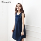 漂亮小媽咪 三粒扣背心裙 【D2125G...