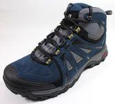 [陽光樂活=]SALOMON 男 EVASION GTX 中筒登山鞋 深藍/石板藍/玉米黃 L39041900
