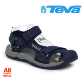 【Teva】男款 Hurricane Toe Pro 護趾水陸機能運動款涼鞋  - 深藍色 (1000352NGRY)【全方位運動戶外館】