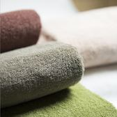 毛巾浴巾棉毛巾純棉吸水日式簡約素色【極簡生活館】