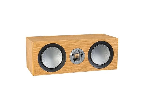 新竹桃園專賣店 英國Monitor Audio 銀Silver C150 中置喇叭 木紋版 名展音響