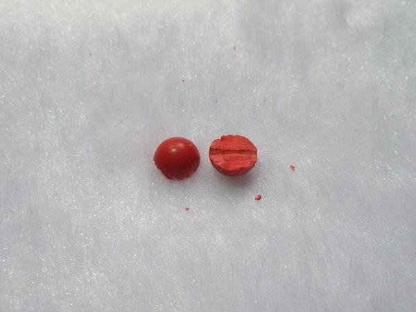 【歡喜心珠寶】【極品硃砂圓珠6mm108顆念佛珠】天然硃砂壓製膠結成品「附保証書」超低價!