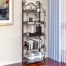 書架 多層收納架 簡易書架落地現代簡約家用多功能客廳多層置物架兒童學生收納書櫃