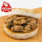 【KK Life-紅龍】台菜三杯雞米漢堡...