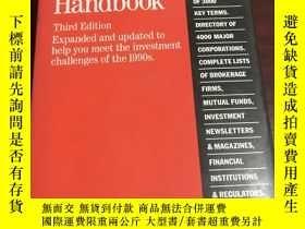 二手書博民逛書店Finance罕見& Investment handbookY2