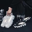 運動鞋 冬季透氣休閒運動男士跑步潮鞋百搭韓版潮流網面2021秋季新款男鞋 夢藝