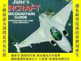 二手書博民逛書店Janes罕見Aircraft Recognition Guide-Janes飛機識別指南Y443421 Da