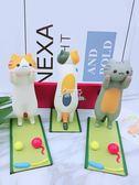 手機支架 小貓咪手機支架桌面可愛卡通創意平板ipad懶人支撐架看電視手機座 俏腳丫