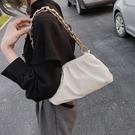 高級感包包女包夏天流行新款潮時尚網紅斜背包單肩腋下云朵包 雙十二全館免運