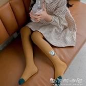 女童打底褲夏薄款純棉外穿中厚公主兒童打底襪連褲襪小女孩 雙十二全館免運