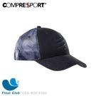 【Compressport瑞士】黑系列 2020 卡車帽 鴨舌帽 遮陽帽 CSA-B20-6304 原價1000元