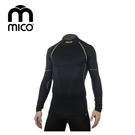 mico  男Primaloft無縫高領保暖衣1471 / 城市綠洲 (運動機能、登山、跑步、旅行、滑雪)