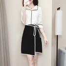 2019夏裝新款OL氣質職業女裝洋裝通勤時尚套裝短裙兩件套裙子潮