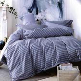 ☆特大薄床包含枕套☆100%精梳純棉6x7尺《布魯斯》