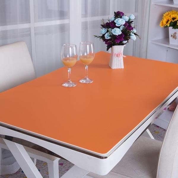 純色書桌墊寫字臺墊鼠標墊辦公桌墊餐桌墊【星際小舖】