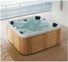 【麗室衛浴】BATHTUB WORLD 獨家擁有 豪華按摩浴缸 G-9005 多種出水按摩方式 2120*2120*900mm