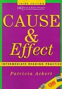 二手書博民逛書店 《Cause & Effect: Intermediate Reading Practice》 R2Y ISBN:0838408745│Heinle & Heinle Pub