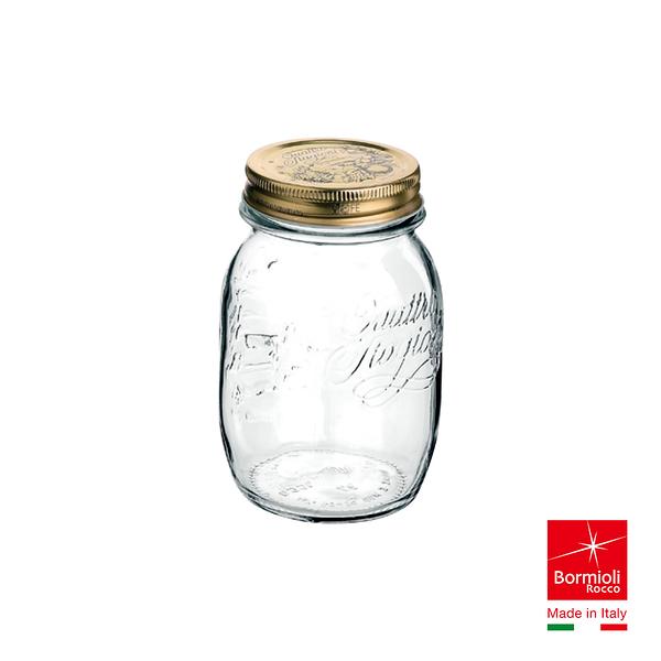 義大利Bormioli Rocco 四季果醬圓罐(500cc) 密封罐 飲料罐 儲物罐 保鮮重複使用 好生活
