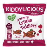 Kiddylicous 童之味 覆盆子水果脆脆魚點心12g (12個月以上)