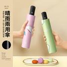 PUFII-雨傘 卡通圖攜帶型自動傘晴雨傘-0709 現+預 夏【CP20760】