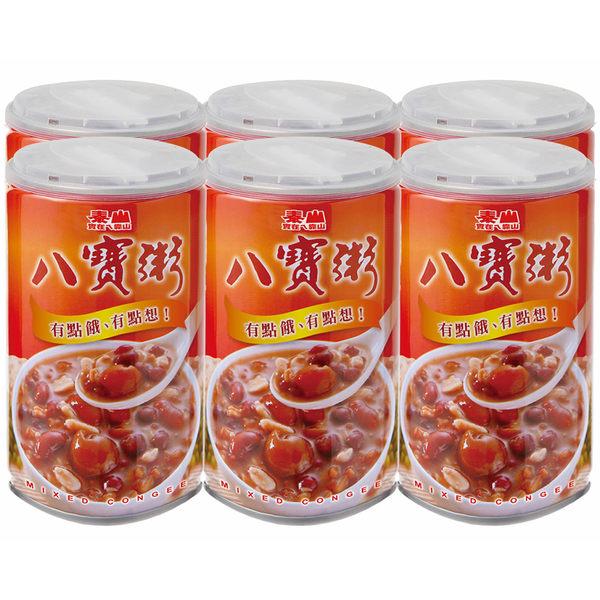 泰山八寶粥375g---6罐裝【合迷雅好物超級商城】