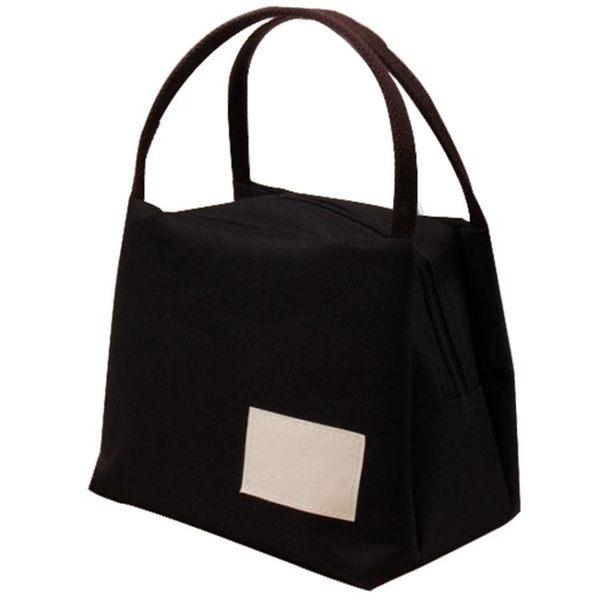 帆布手提包便當包保溫飯盒袋牛津布媽咪飯盒包