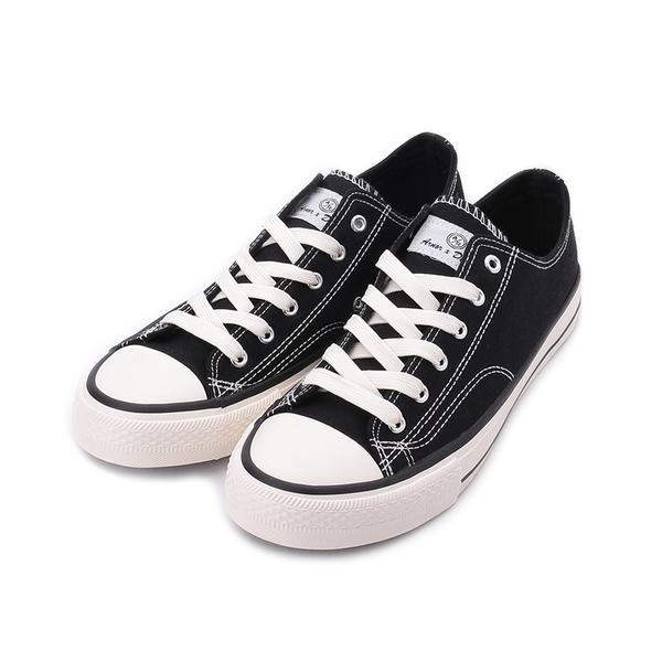ARNOR 經典復古帆布鞋 黑 ARMC13070 男鞋
