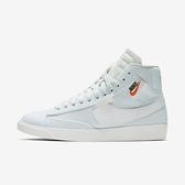 Nike Wmns Blazer Mid Rebel [BQ4022-400] 女鞋 運動 休閒 中筒 穿搭 水藍 白