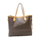 LOUIS VUITTON LV 路易威登 原花肩背包 購物袋 Neverfull GM M40157【BRAND OFF】