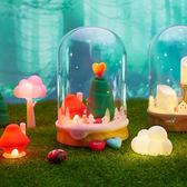 療癒系 夜燈《Vacii》DeLight Fairytale 幸福童話燈組 (內建USB電源輸出) / H&D 東稻家居