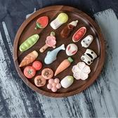 日式創意筷子架放筷子托筷架陶瓷家用架托筷枕餐具可愛的筆擱卡通 喵小姐