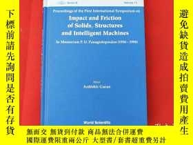 二手書博民逛書店lmpact罕見and Friction of solids structures and lntelligent