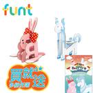 [媽咪可兒]韓國Funt英文字母立體拼圖(兔子+獨角獸)_送精美故事書