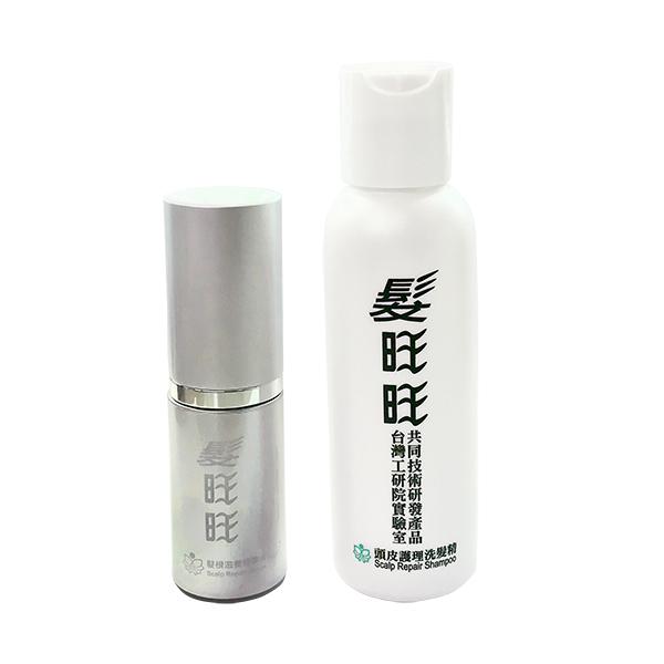 髮旺旺精裝版精華液15G+洗髮80G 【康是美】