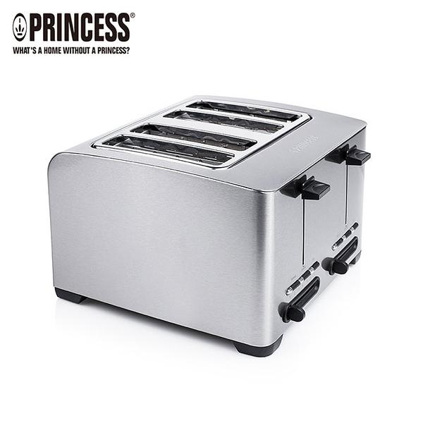 【荷蘭公主 PRINCESS】不鏽鋼四片烤麵包機 烤土司 142397