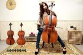 小叮噹的店 - 全新 入門楓木大提琴 供應各尺寸 贈厚版琴袋+雙眼弓 JYCE-E900
