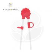 Marcus & Marcus 動物樂園幼兒學習筷-獅子(紅)【佳兒園婦幼館】