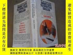 二手書博民逛書店SHORT罕見CUTS TO EFFECTIVE ENGLISH