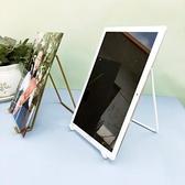 創意相框 桌面相框支架托獎牌證書展示架創意落地立式玻璃相片平板托架【快速出貨好康八折】