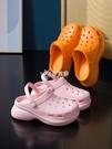洞洞鞋 新款洞洞鞋女ins潮厚底包頭外穿防滑護士時尚涼拖鞋夏沙灘鞋