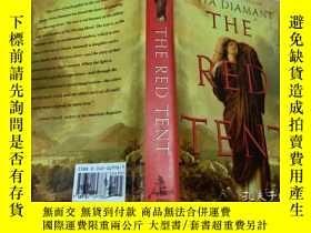 二手書博民逛書店原版英法德意等外文罕見THE RED TENT ANITA DI