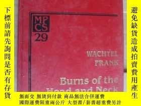 二手書博民逛書店BURNS罕見OF THE HEAD AND NECK 《頭,頸