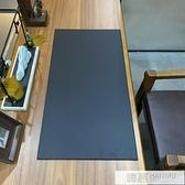商務辦公桌墊寫字墊板書桌墊大班台電腦滑鼠墊皮革加厚硬面超大號 夏季新品
