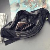 韓版新款胸包男士休閒單肩斜挎包街頭個性死飛腰包運動挎包騎行包 艾尚旗艦店
