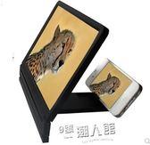 二代升級版高清3D手機屏幕放大器手機視頻放大鏡器手機底座支架 9號潮人館
