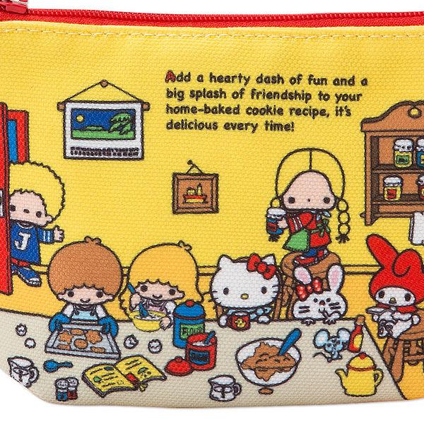 【震撼精品百貨】Hello Kitty 凱蒂貓~SANRIO 70'S復古群星大集合系列面紙化妝包(房間)