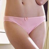 EASY SHOP-素体美人 素面款中低腰三角褲(輕柔粉)